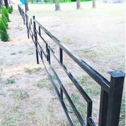 Установка оград металлических и кованых.