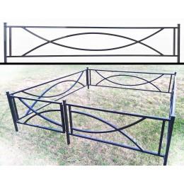 Продажа оград металлических для могил №20, мастерская по металлу в Жодино.