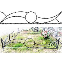 Заказ оград металлических №18, изготовление в короткие сроки по низкой стоимости.