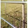 Хотите заказать оградку из нержавейки? Изготовление оград нержавейки рис № Н5, установка ограждений на могилу.