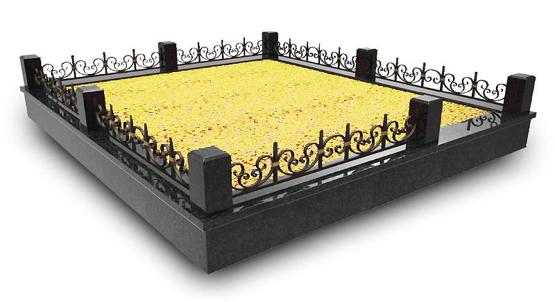 Ограды вставки кованые в Жодино