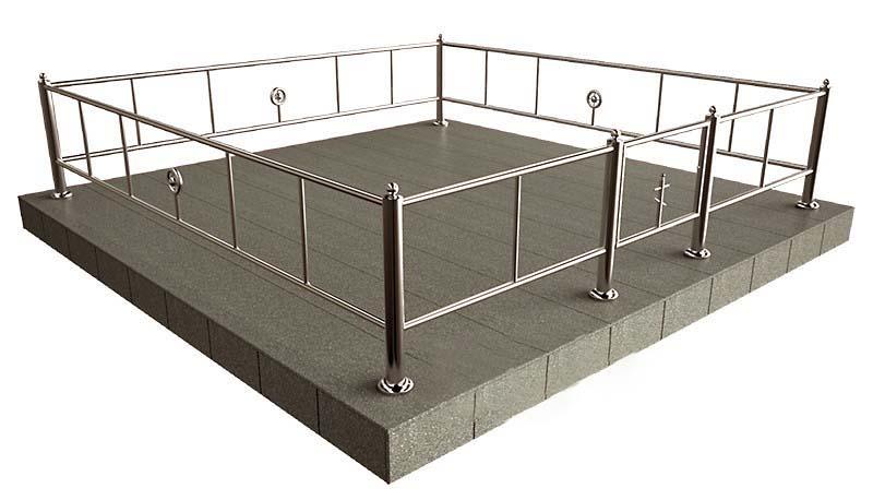 ограда нержавейка Жодино